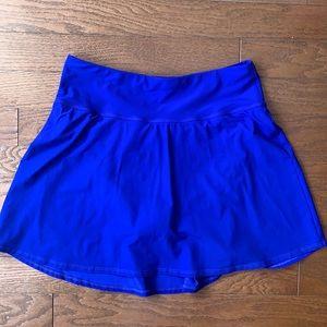 L.L. Bean | Blue Bathing Suit Bottom with Skirt
